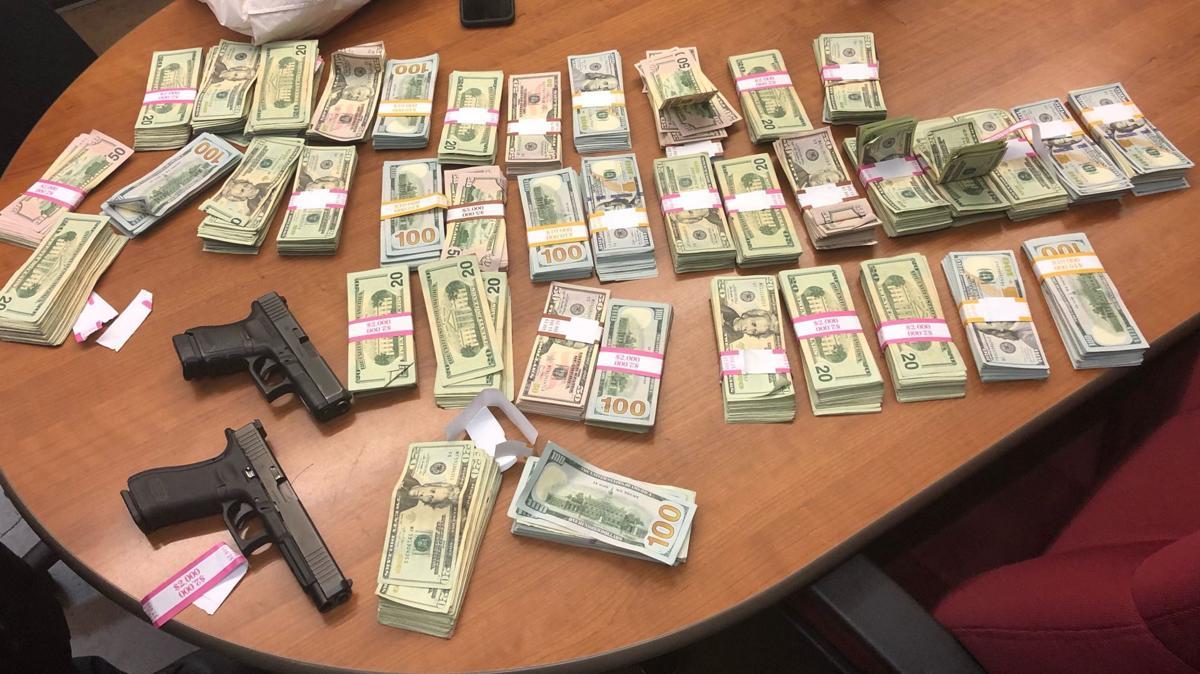American Canyon police cash and guns