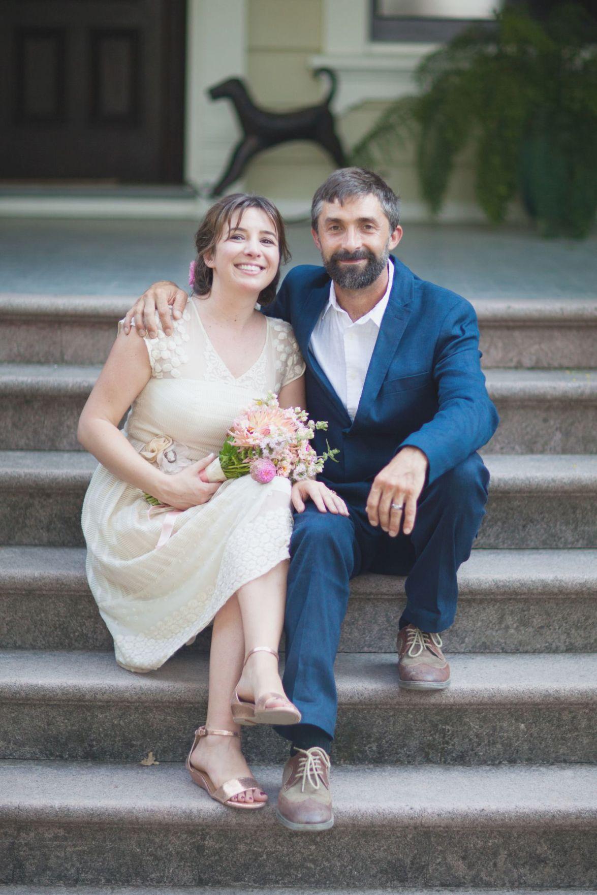Livia Manfredi and Stephen Price