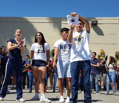 Napa High students announce new mascot