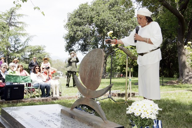Mary Ellen Pleasant honored with new gravestone at Tulocay Cemetery