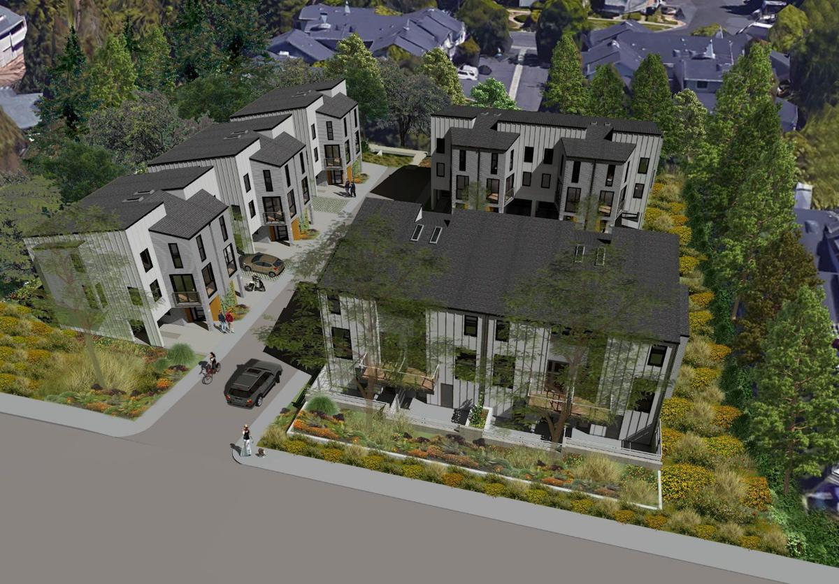 Foster Road townhomes