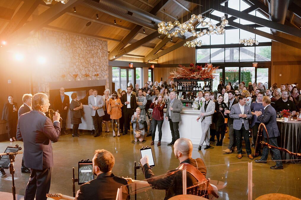 Guests attended a grand opening event that The Estate Yountville hosted for Hotel Villagio.