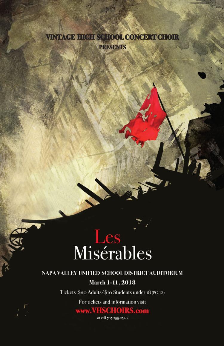 Vintage High Concert Choir Presents Les Misérables