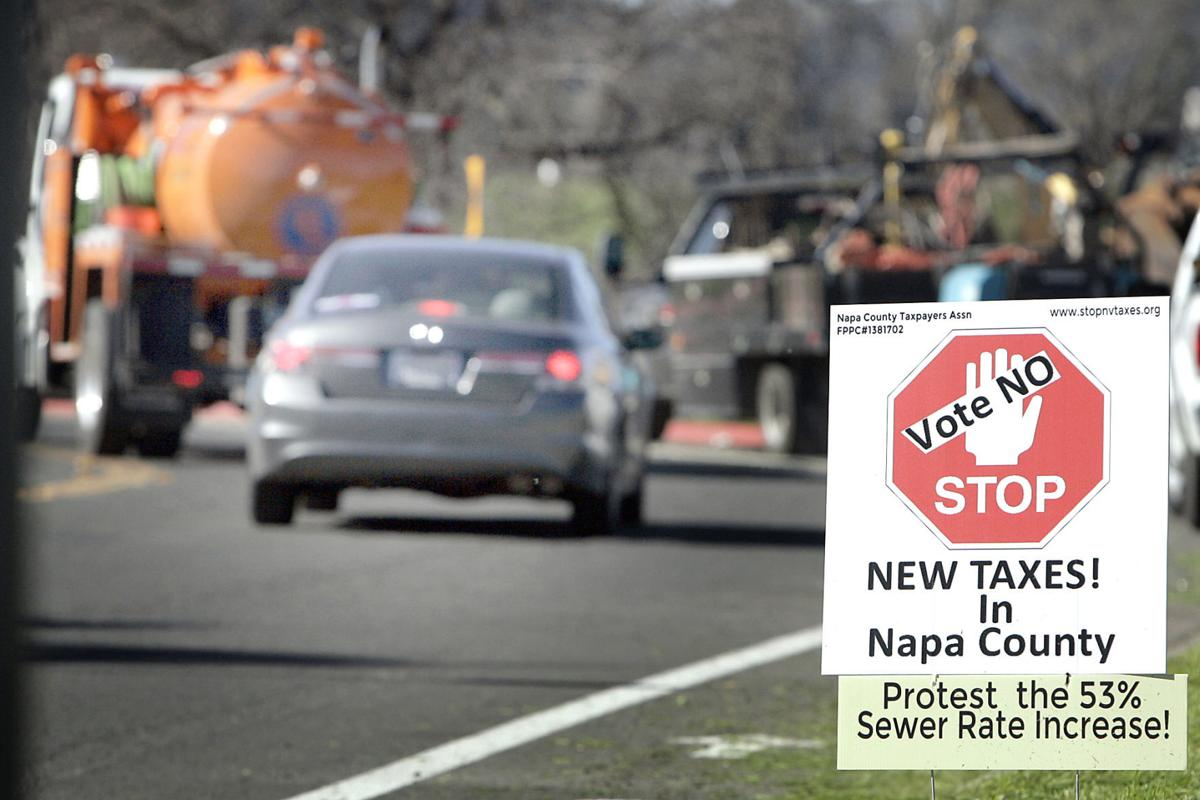 Sewer Rate Increase Protest