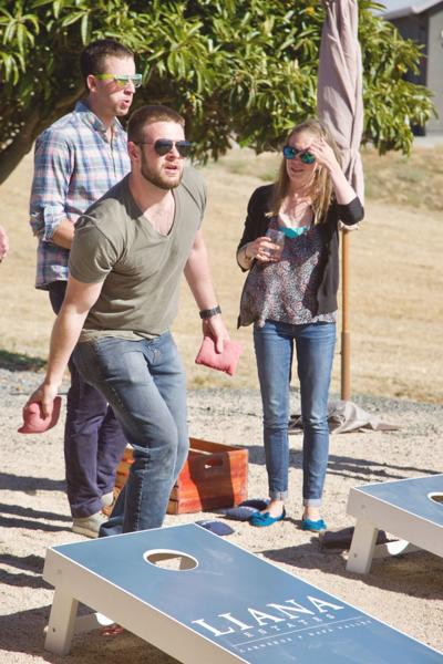 Carneros Cornhole Tournament and Wine Tasting