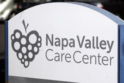 Napa Valley Care Center sign