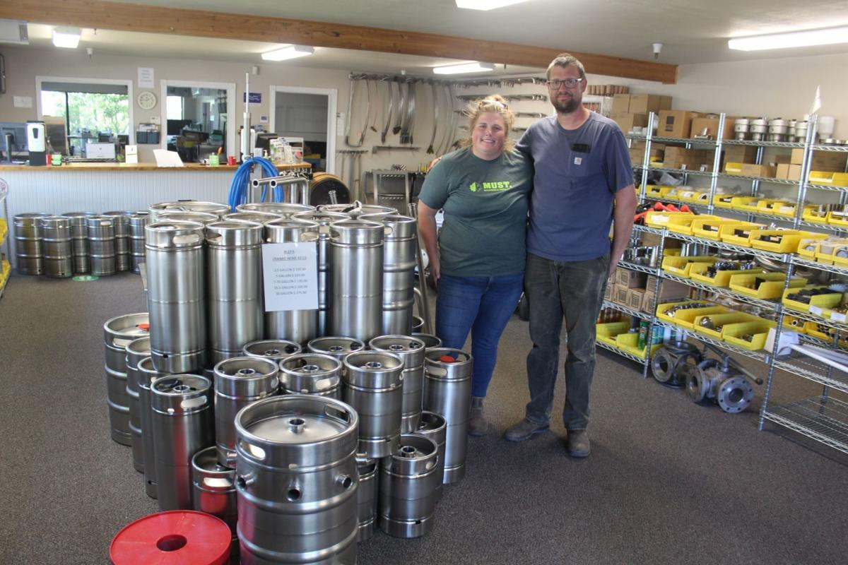Michelle and Alex Mitchell of MUST Machining & Fabrication