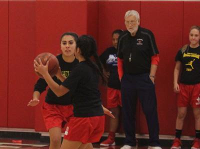 St. Helena girls basketball