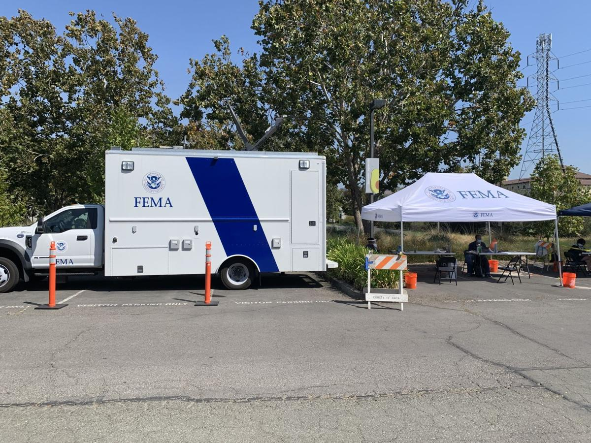 FEMA assistance center in Napa