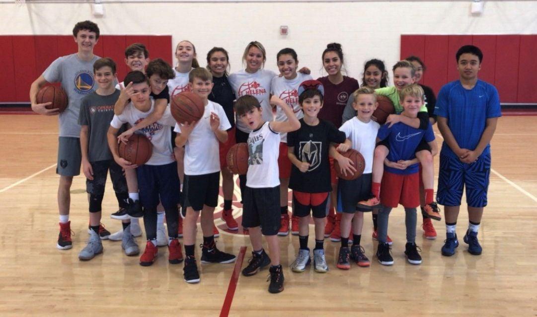 St. Helena Youth Basketball Clinic