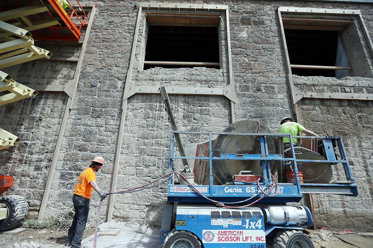 Borreo Building Openings Cut