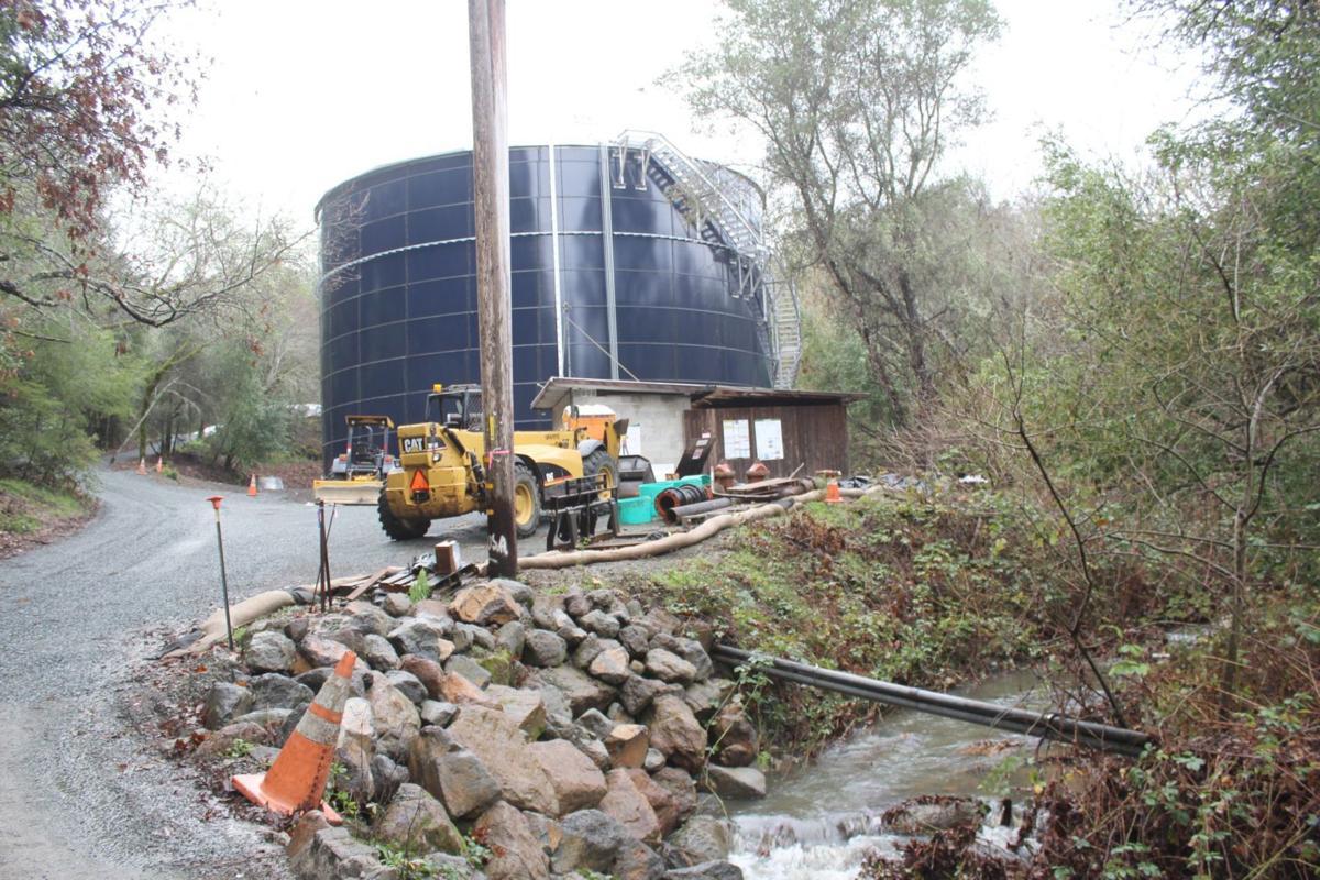 Feige water tank