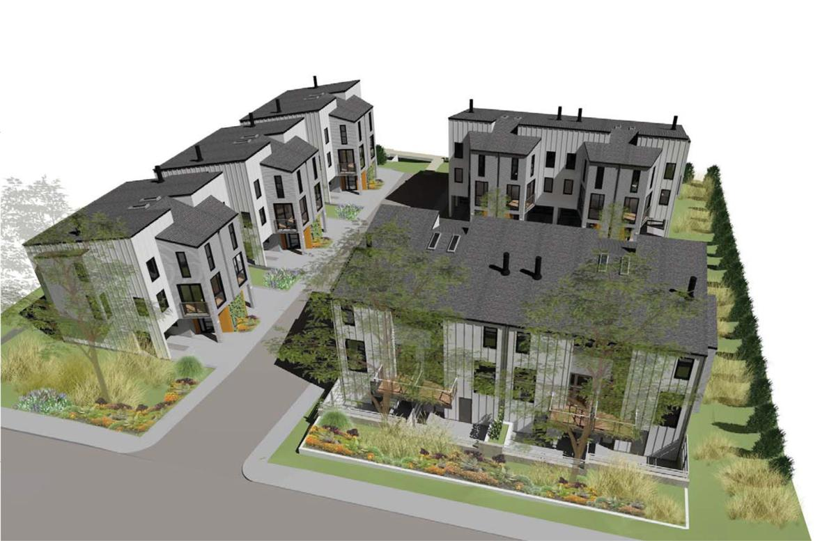 Foster Road townhouses in Napa