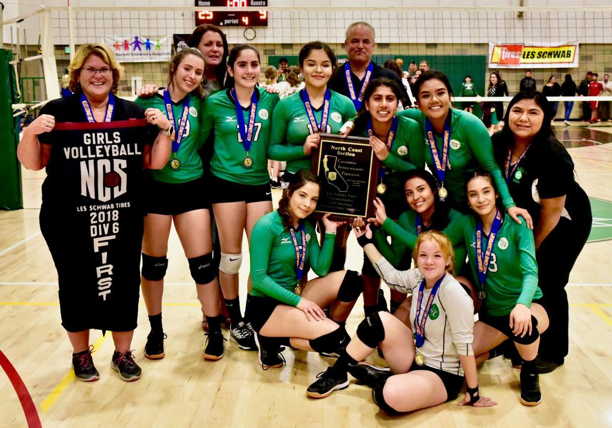Calistoga High volleyball