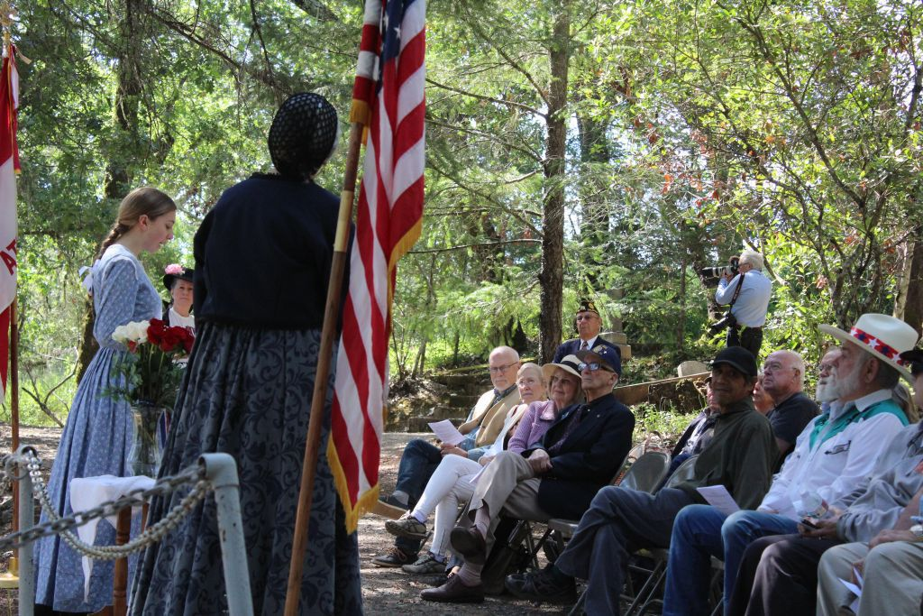 Pioneer Cemetery Memorial Ceremony 2017