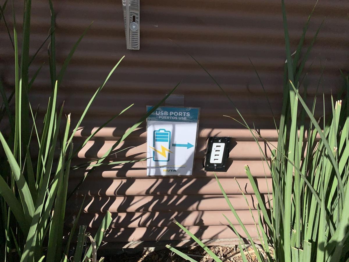 NVTA transit center charging station