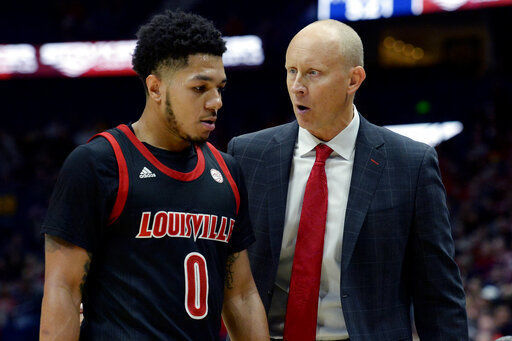 Louisville is new No. 1, unranked Michigan goes to No. 4