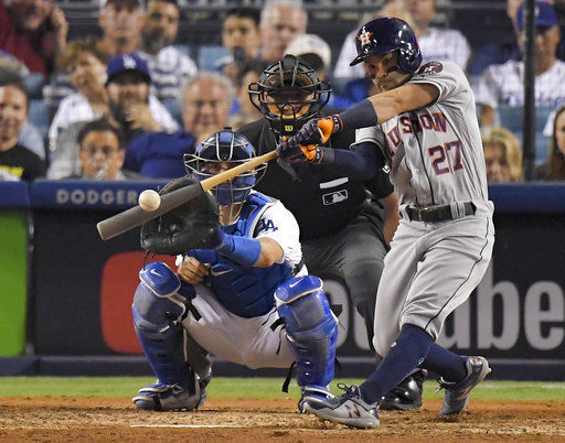 Astros star Jose Altuve named AP Male Athlete of the Year
