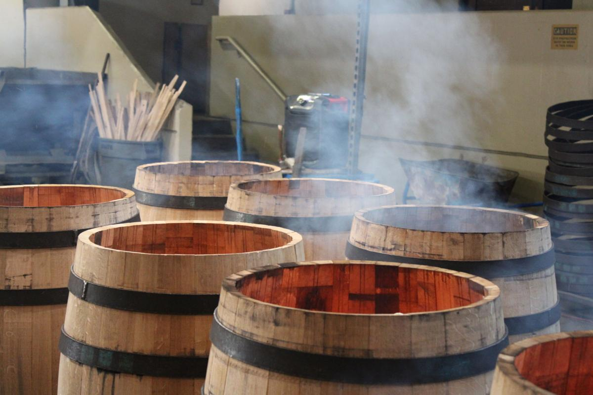 Barrels and smoke, Seguin Moreau