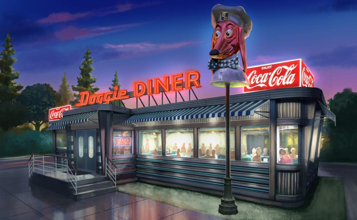 Doggie Diner conceptual art