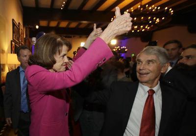 The Latest: 3 Senate races remain too close to call