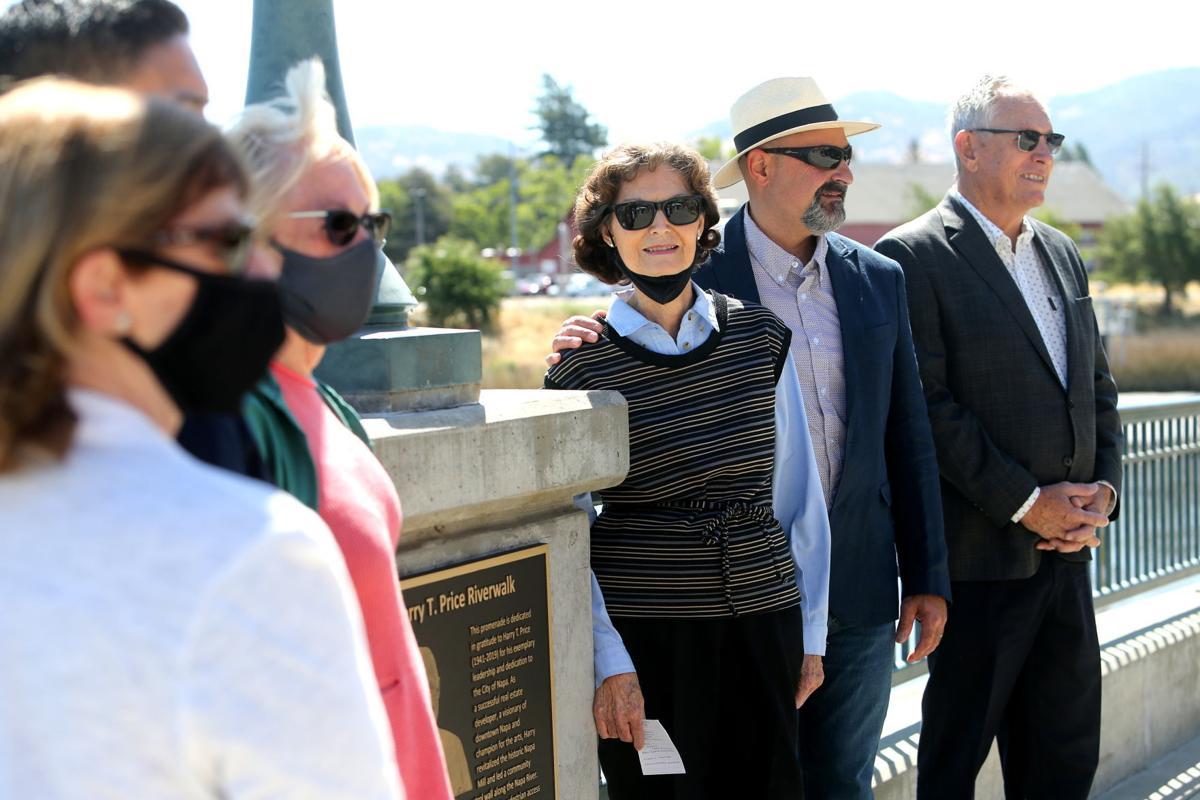 Napa dedicates Harry T. Price Riverwalk