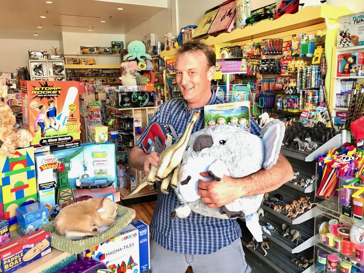 Darren Turbeville, owner of Toy B Ville