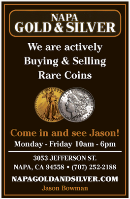 We are actively buying and selling rare coins