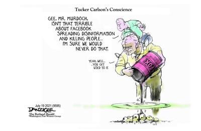 Jeff Danziger editorial cartoon