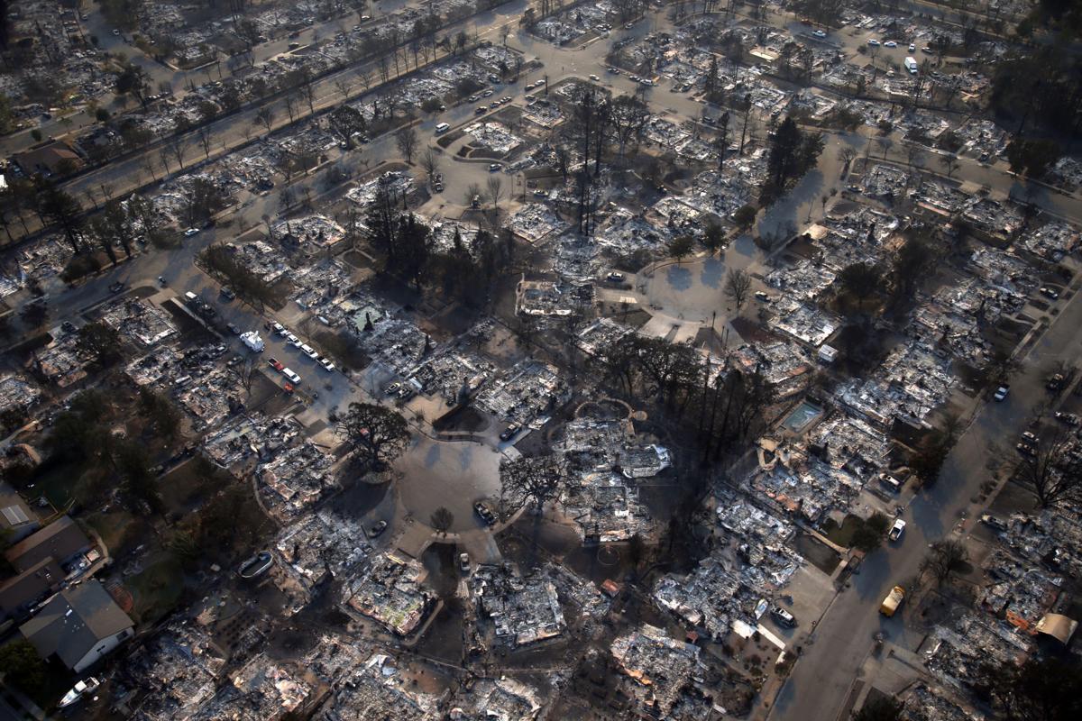 California Wildfires Destroyed Neighborhood
