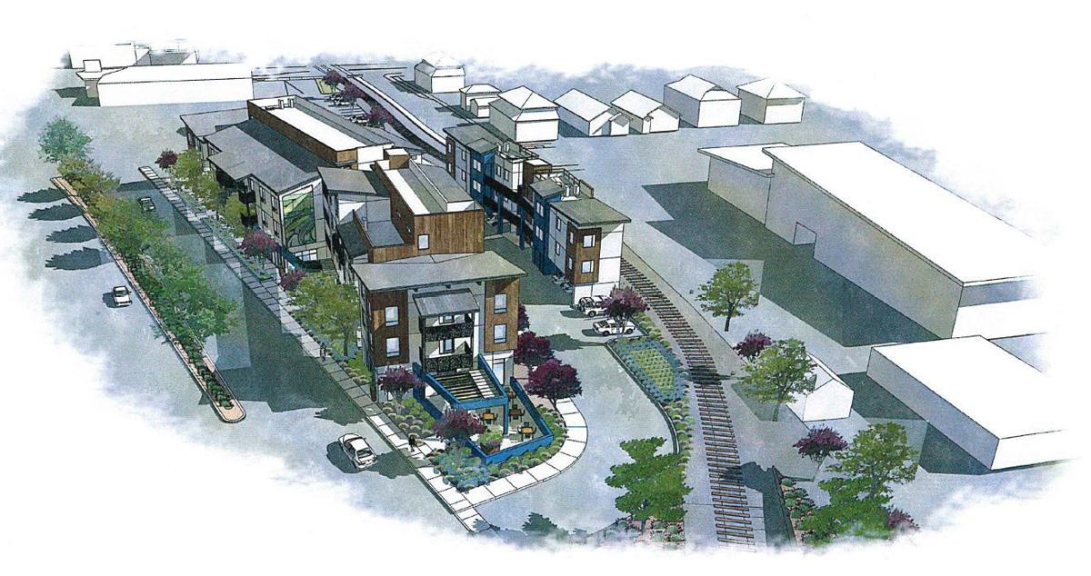 Proposed Wine Train employee housing would be built on Soscol near Bell Products and Greenbergs Quality Motors.