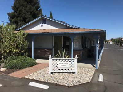 The Napa Valley Manor mobile home park at 770 Lincoln Ave.