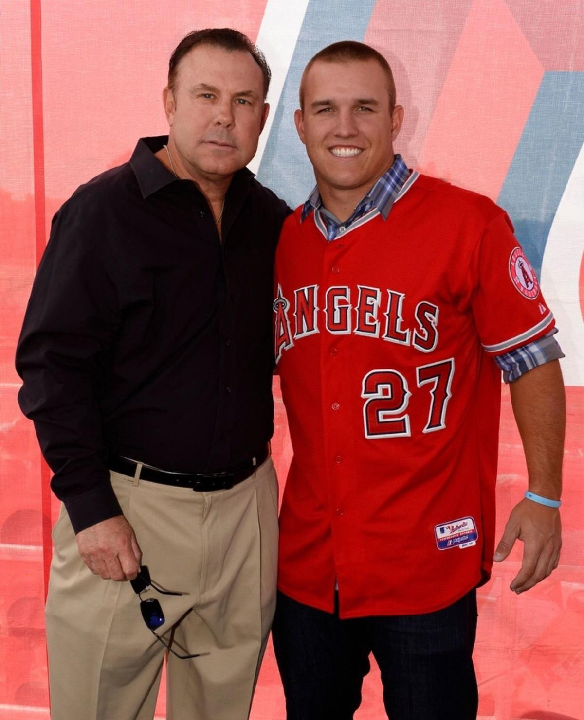 Craig Landis and Mike Trout