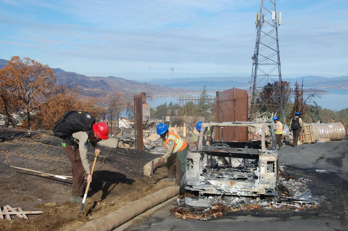 Conservation Corps at Berryessa