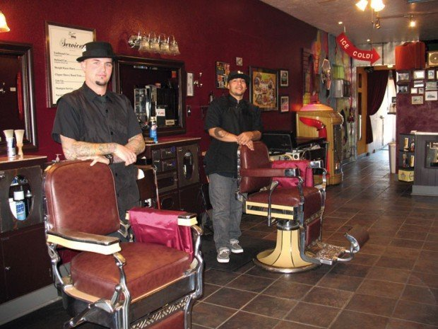 executive room offers an old school barbershop experience business