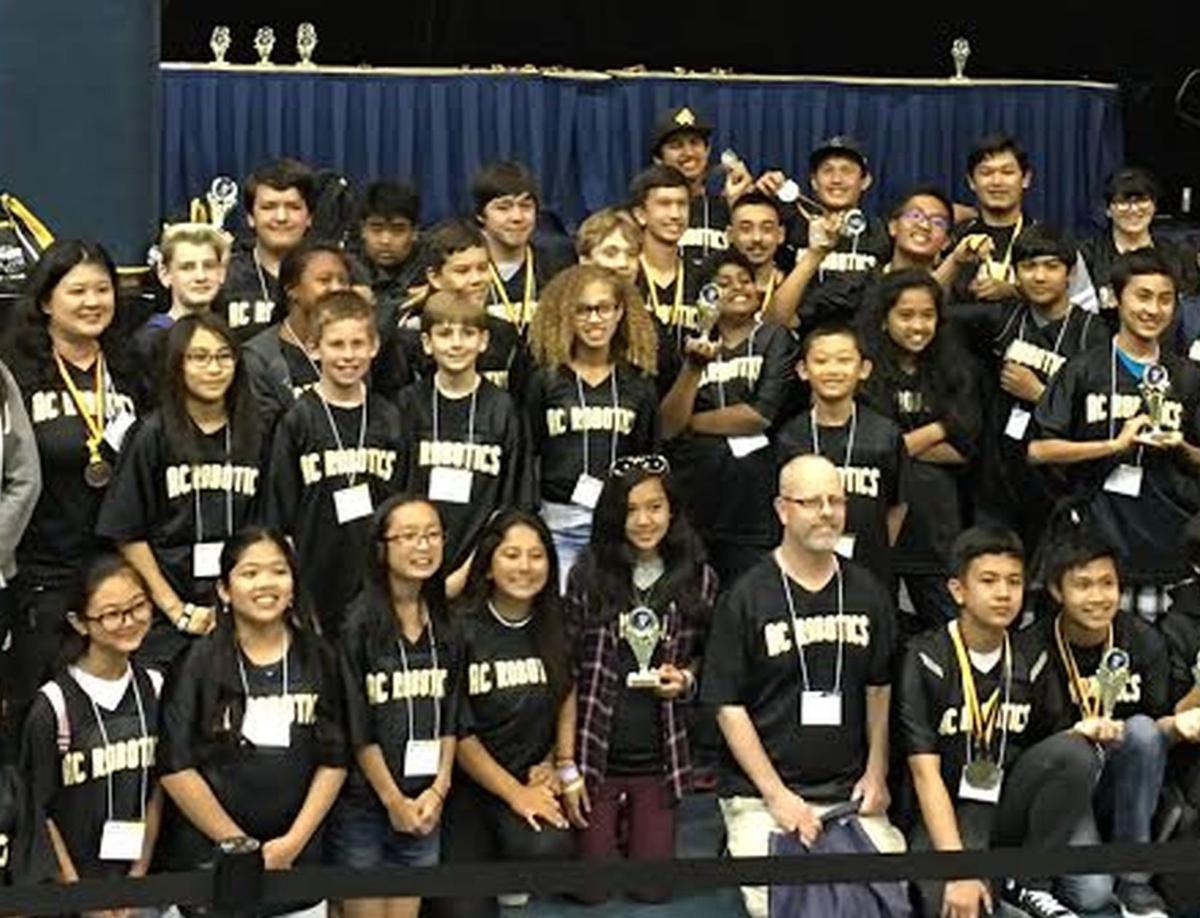 AC Robotics team photo 2017