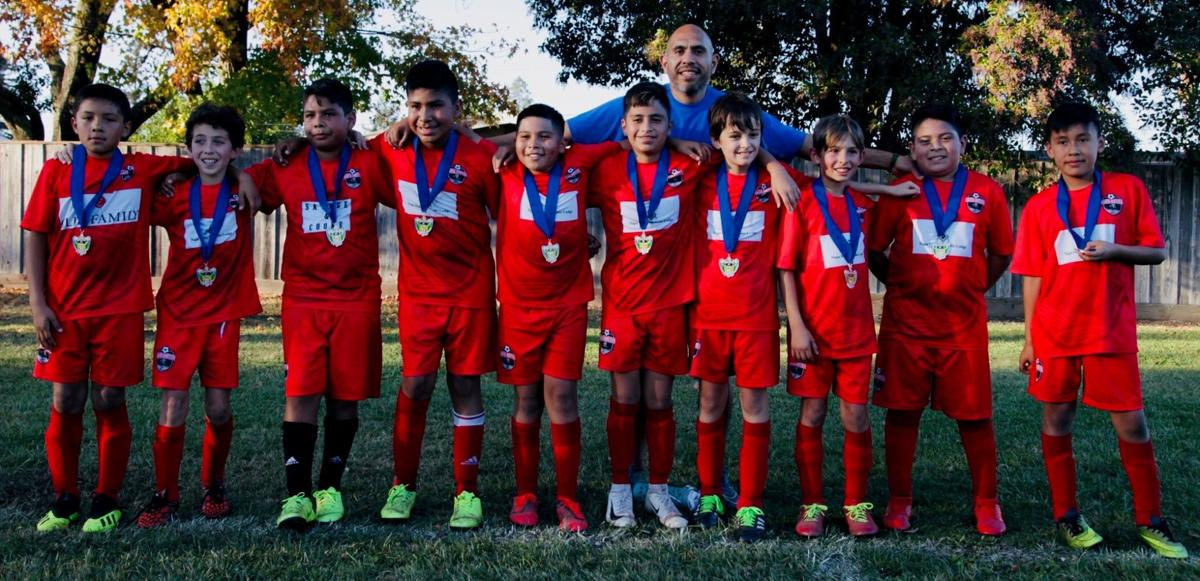 St. Helena's G.O.A.T. youth soccer team