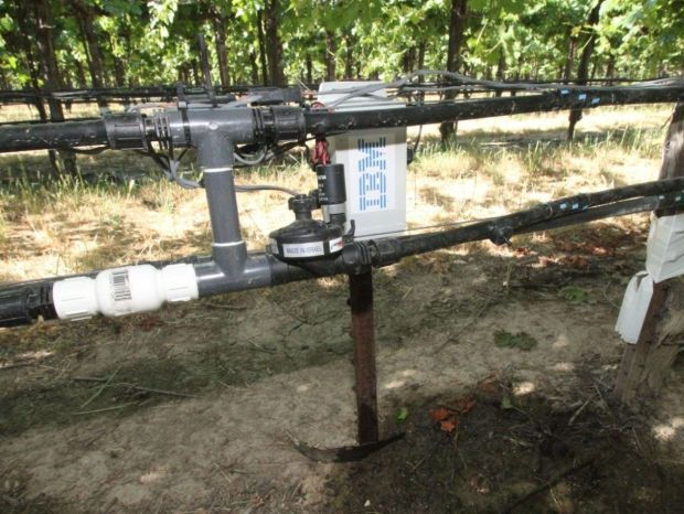 Prototype Variable Rate Irrigation System