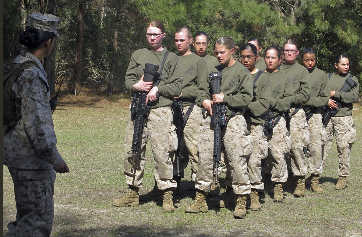 Women in Combat Marines