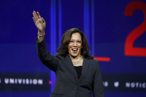 2020 hopeful Harris focuses on black women in South Carolina