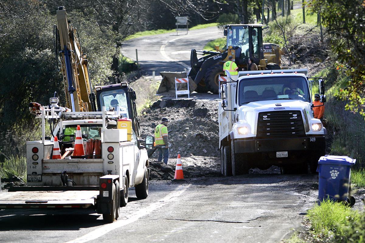 Mount Veeder Road Closure