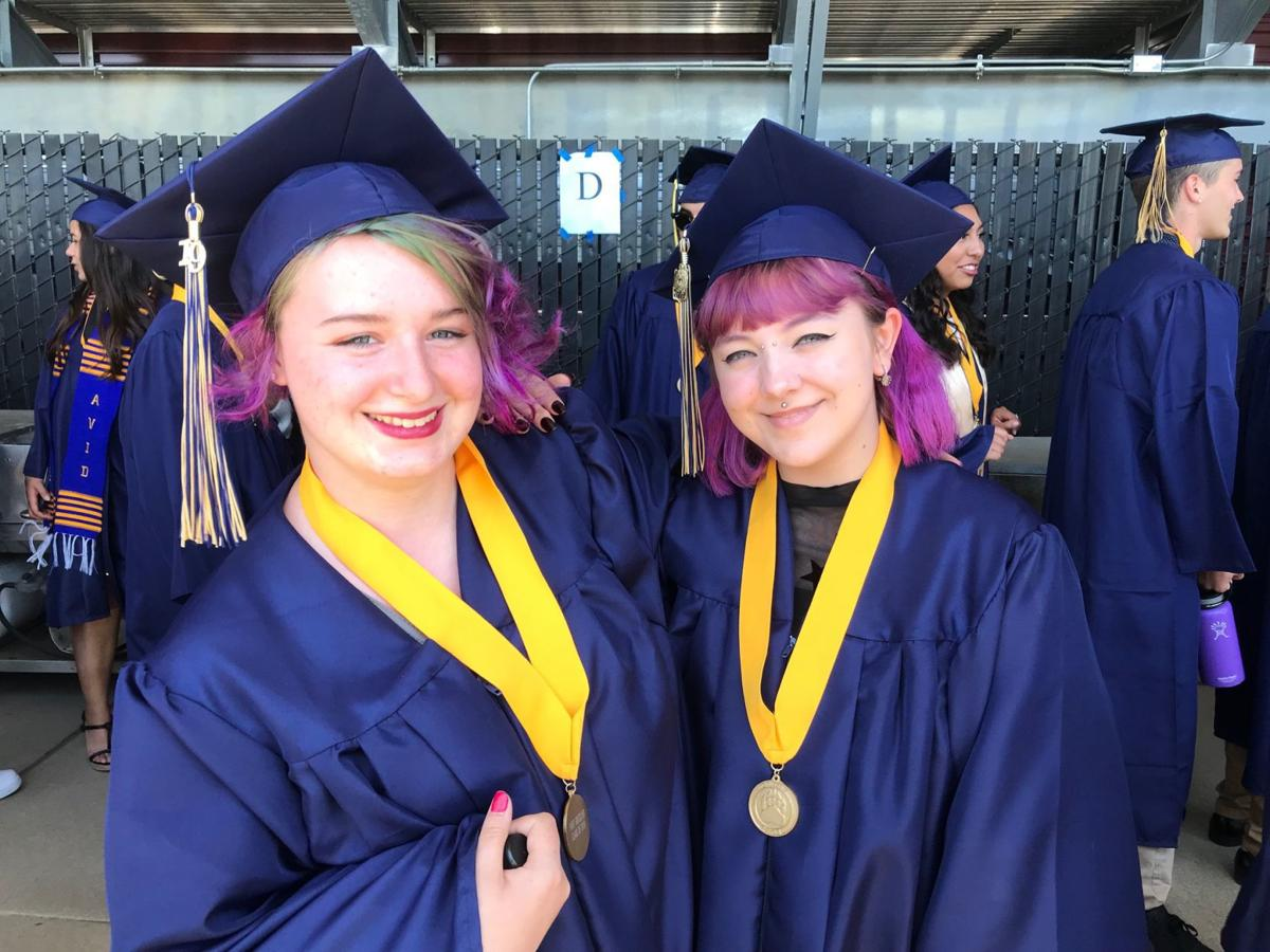 Two members of Napa High School class of 2019.