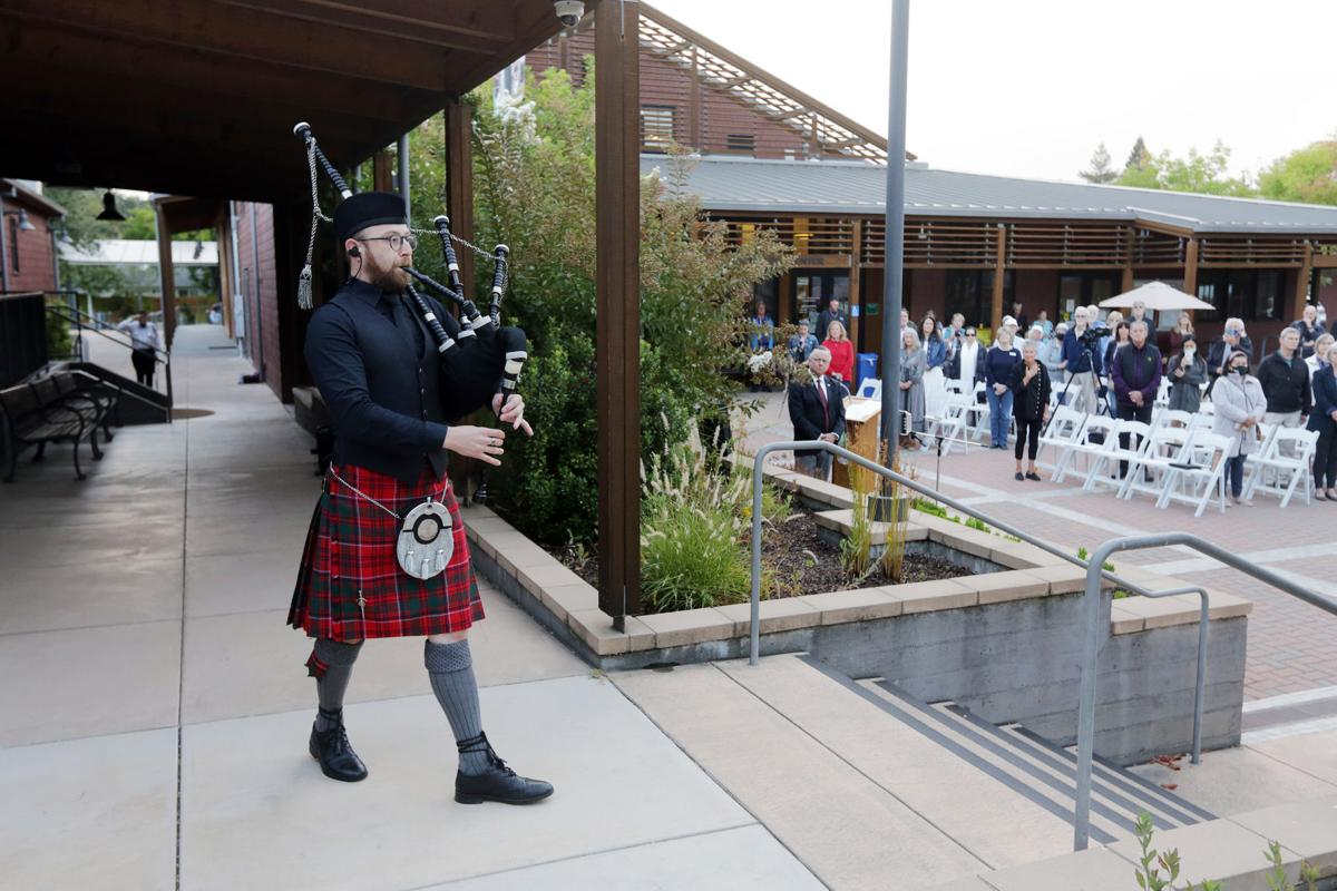 Sept. 11 20th anniversary ceremonies in the Napa Valley