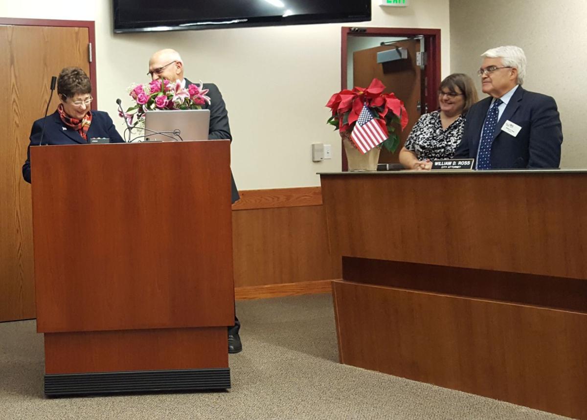 Joan Bennett farewell at City Council