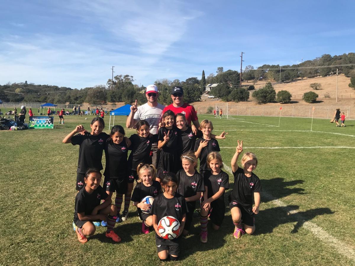 St. Helena U10 girls soccer