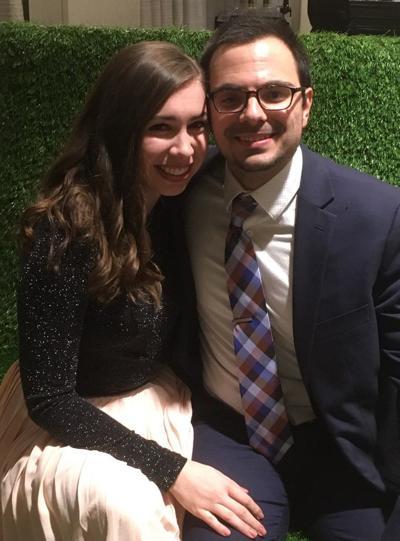Amanda Hinkel and Joseph Mauceri