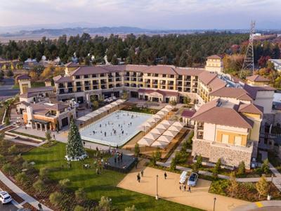 Napa's Meritage Resort & Spa will be hosting an ice rink this holiday season