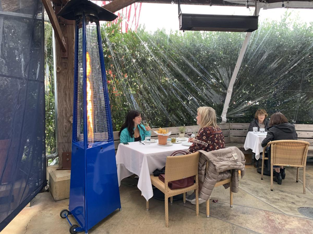 Angele outdoor dining