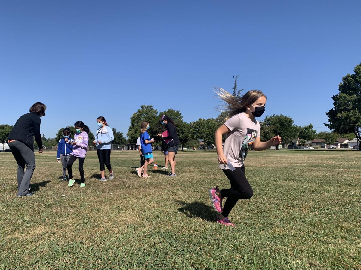 Girls On The Run summer camp 2021