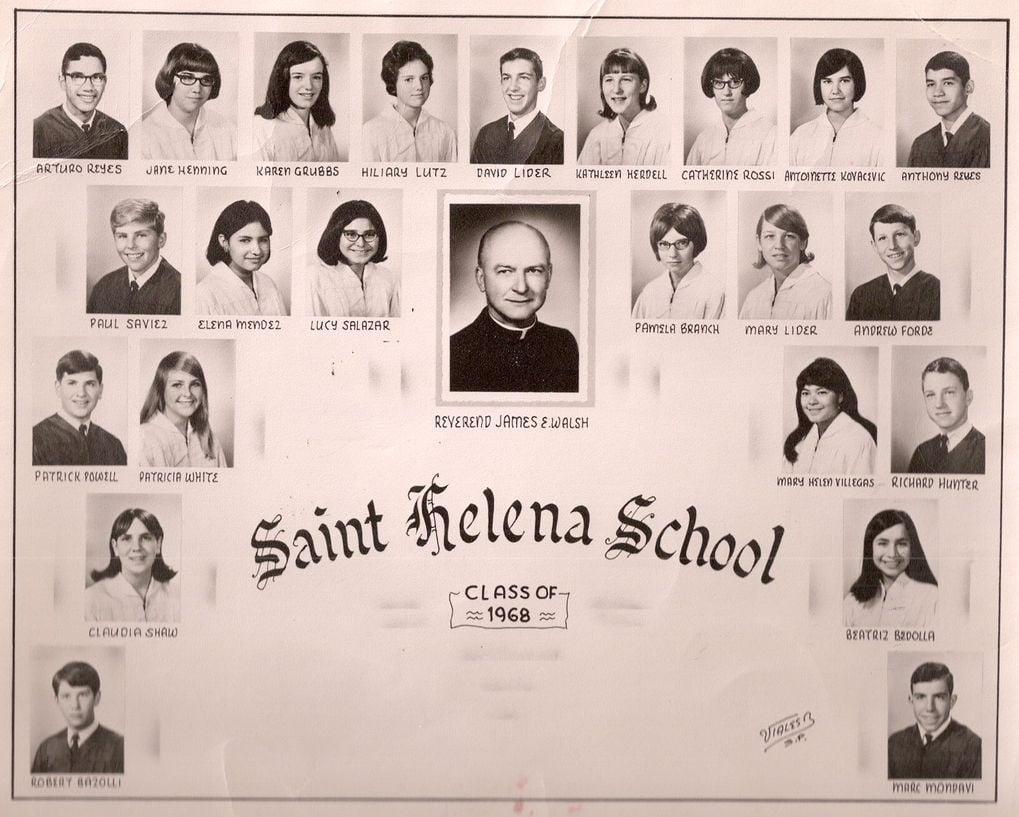 St. Helena Catholic School Class of 1968